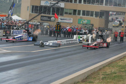 Antron Brown, Matco Tools and Doug Kalitta, Technicoat/Kalitta Motorsports