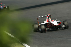 Alexander Rossi leads Josef Newgarden