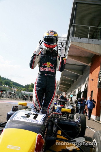 Winner Jean-Eric Vergne