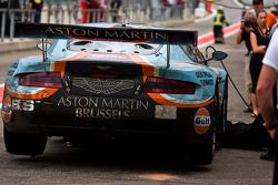#64 Brussels Racing Aston Martin DBRS9 GT3: Eddy Renard, Tim Verbergt, Koen Wauters, Jeff Van Hooydonk