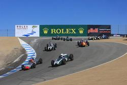 Formula Junior Group 6A pace lap