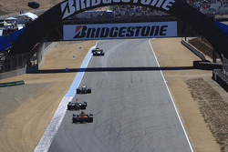 Qualifying race action