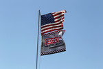 Flags at Infineon Raceway at Sears Point