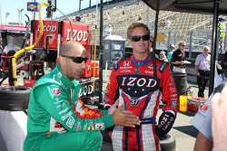 Tony Kanaan, Andretti Autosport and Ryan Hunter-Reay, Andretti Autosport