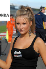 Lea Wood's grid girl