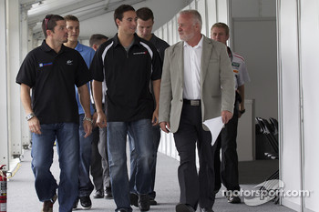 Pre-event press conference: Patrick Carpentier, Trevor Bayne, Andrew Ranger, J.R. Fitzpatrick and Mark Wilkins