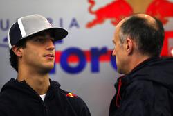 Daniel Ricciardo, Test Driver, Red Bull Racing, Franz Tost, Scuderia Toro Rosso, Team Principal