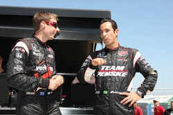 Will Power and Helio Castroneves, Team Penske