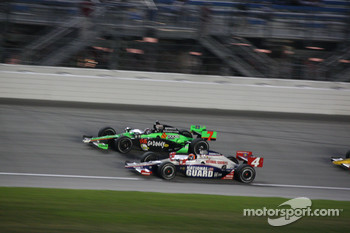 Danica Patrick, Andretti Autosport and Dan Wheldon, Panther Racing
