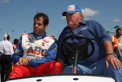 Vitor Meira, A.J. Foyt Enterprises with A.J. Foyt