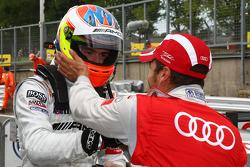 Pole winner Paul di Resta, Team HWA AMG Mercedes