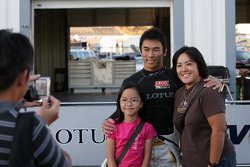 Takuma Sato, KV Racing Technology and fans