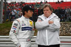 Bruno Spengler, Team HWA AMG Mercedes C-Klasse with Norbert Haug