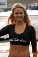 Gordon Shedden's Grid Girl