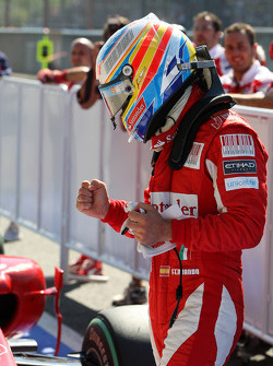 Fernando Alonso, Scuderia Ferrari in pole position