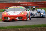 #90 CRS Racing Ferrari F430 GT: Pierre Ehret, Phil Quaife, Pierre Kaffer