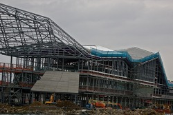 New Silversone pit complex under construction