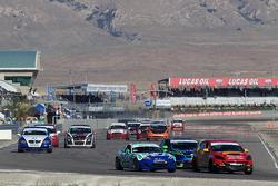 #43 Team Sahlen Mazda Speed 3: Will Nonnamaker, Joe Sahlen, #25 Freedom Autosport Mazda MX-5: Tom Long, Derek Whitis