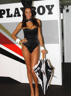 A lovely Playboy LCR Honda MotoGP girl