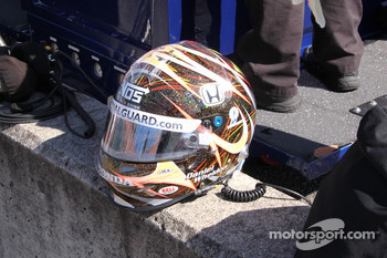 Helmet of Dan Wheldon, Panther Racing