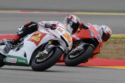 Marco Melandri, San Carlo Honda Gresini and Casey Stoner, Ducati Marlboro Team