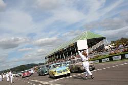 St Marys Saloons race start