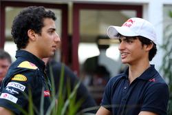 Daniel Ricciardo Test Driver, Red Bull Racing, Carlos Sainz Jr.