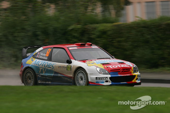 Yvan Muller and Gilles Mondesier, Citron Xsara WRC