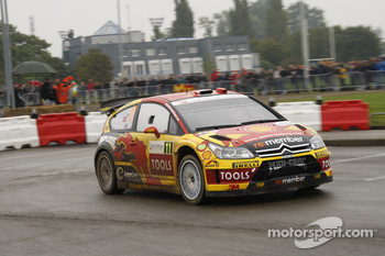 Petter Solberg and Chris Patterson, Citron C4 WRC, Petter Solberg Rallying