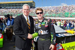 Missouri Governor, Jay Nixon, and Carl Edwards, Roush Fenway Racing Ford