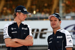 Nico Hulkenberg, Williams F1 Team, Rubens Barrichello, Williams F1 Team