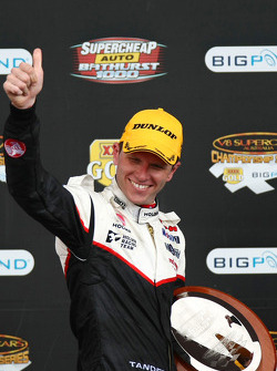 Garth Tander takes third with Cameron McConville for the Toll Holden Racing Team
