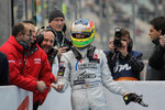 Second place Roberto Merhi, Muecke Motorsport Dallara F308 Mercedes