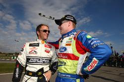 Petter Solberg and Jari-Matti Latvala