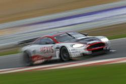 #9 Hexis AMR Aston Martin DB9: Frédéric Makowiecki, Yann Clairay