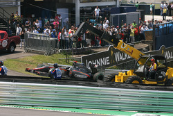 Christian Klien, test driver, Hispania Racing F1 Team returned to the pits