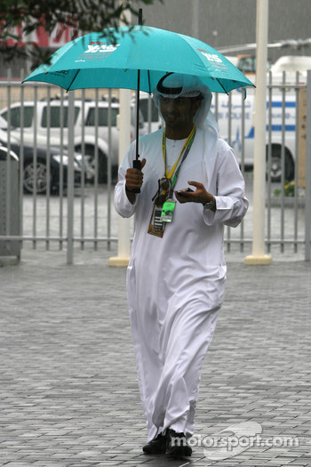 Rain hits Abu Dhabi