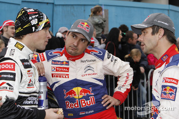 Sbastien Loeb and Daniel Elena