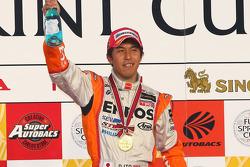 Podium GT500: race winner Daisuke Ito