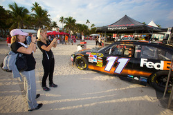 Toyota Racing display on South Beach