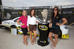 NASCAR Championship drive event in South Beach: the charming Miss Sprint