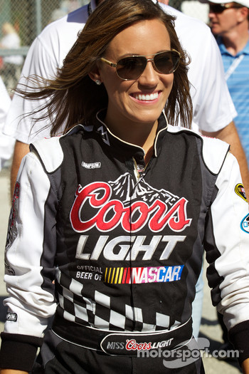 The charming Miss Coors Light