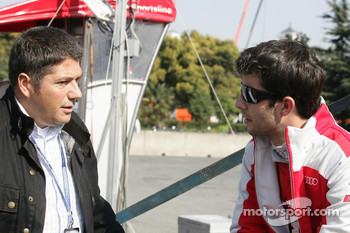 Michael Kleinert Hankook Tyre with Mike Rockenfeller, Audi Sport Team Phoenix Audi A4 DTM