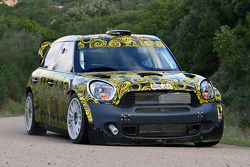 Mini Countryman WRC 25 testing