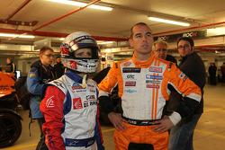 Alain Prost and Jeroen Bleekemolen
