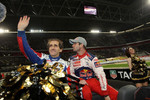 Alain Prost and Sbastien Loeb
