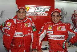 Felipe Massa Giancarlo Fisichella