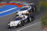 #33 Triple H Team Hegersport Maserati MC12: Altfrid Heger, Alex Mller and #34 Triple H Team Hegersport Maserati MC12: Nico Verdonck, Alessandro Pier Guidi