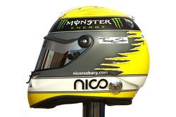 Nico Rosberg, Mercedes GP Petronas F1 Team helmet
