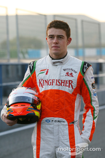 Paul di Resta, Test Driver, Force India F1